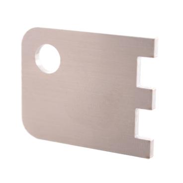 Dreizack Schlüssel aus Edelstahl
