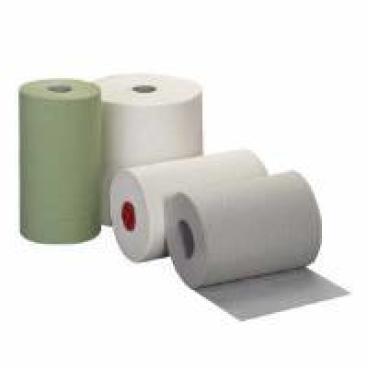Rollenhandtuchpapier, Tissue 2-lagig, hochweiß 1 Paket = 6 Rollen á 140 m