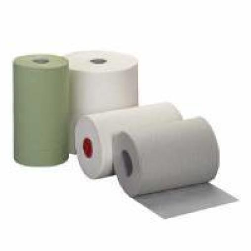 Rollenhandtuchpapier, Tissue 2-lagig, hochweiß