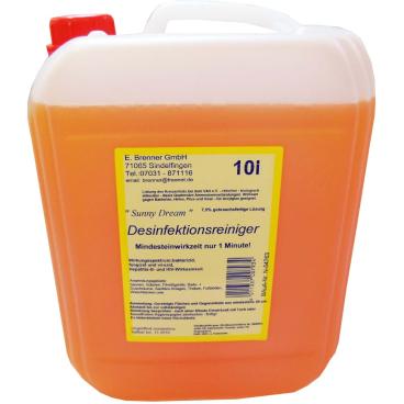 Sunny Dream 7,5% Gebrauchsfertiger Desinfektionsreiniger 10 l - Kanister