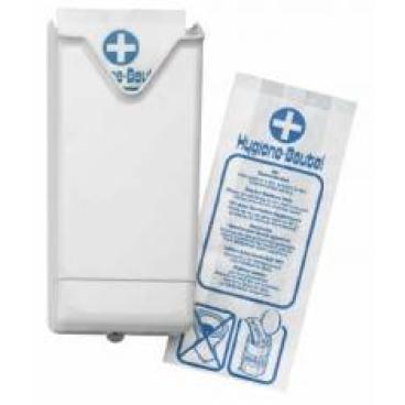 Halterung für Hygienebeutel, Kunststoff, weiß 1 Stück