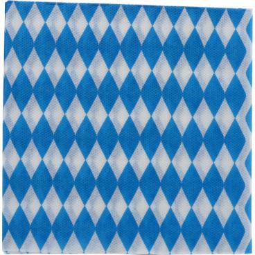Servietten, 33 x 33 cm, 1-lagig, -Bayrische Raute- ½ Palette = 9 Kartons = 36.000 Stück
