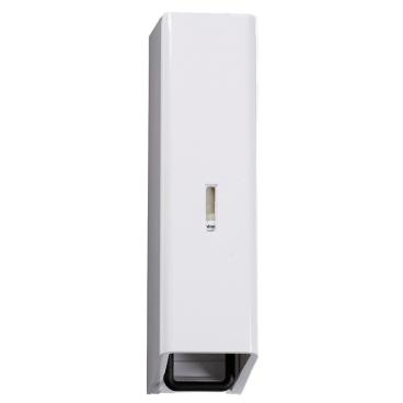 Seifenspender, Kunststoff, weiß B 105 x H 320 x T 110 mm