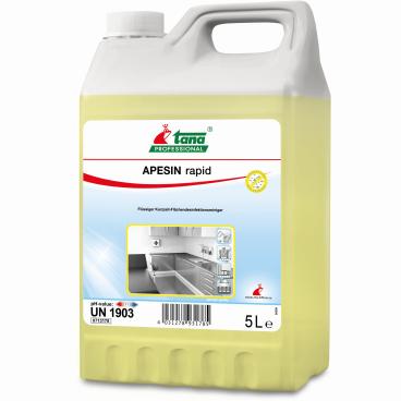 TANA APESIN rapid Desinfektionsreiniger 1 Karton = 6 x 2000 ml - Standbeutel