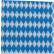 Servietten, 33 x 33 cm, 1-lagig, -Bayrische Raute- 1 Palette = 18 Kartons = 72.000 Stück