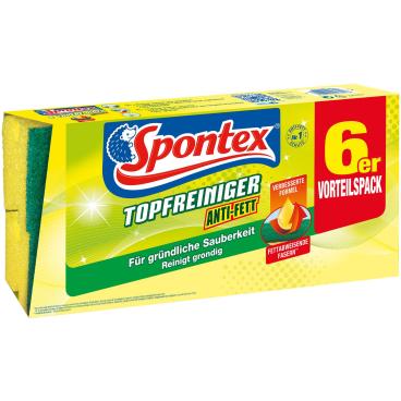Spontex Anti-Fett Topfreiniger 6er