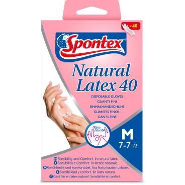 Spontex Latexhandschuh
