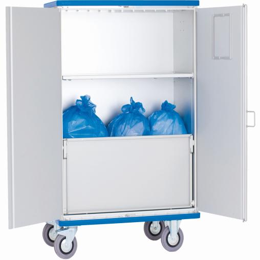 Schrankwagen Aluminium, eloxiert