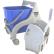 TTS Nick Tec Einfachfahreimer Maße ( B x L x H): 430 x 530 x 910 mm