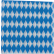 Servietten, 33 x 33 cm, 1-lagig, -Bayrische Raute- 1 Karton = 40 Pack x 100 Stück = 4000 Stück