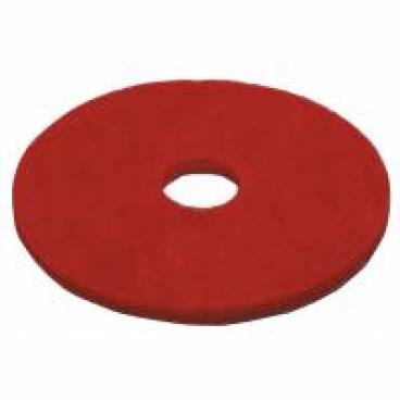 Vileda Dyna Cross Superpads, 20 mm dick Ø 410 mm, rot - Spraycleanern