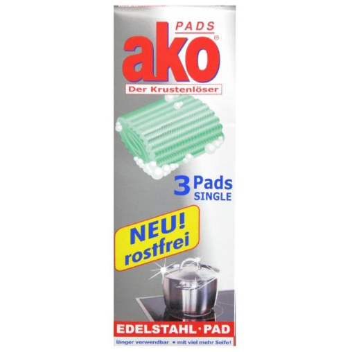 akoPADS® Edelstahl Pad