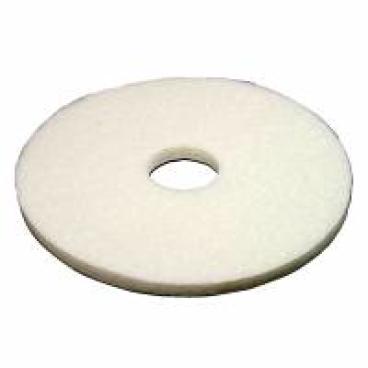 Vileda Professional DynaCross Superpads, 20 mm dick 1 Packung = 5 Stück, weiß, Ø 410 mm