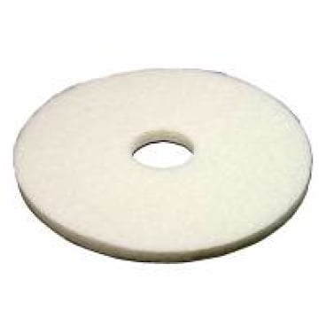 Vileda Professional DynaCross Superpads, Ø 410 mm 1 Packung = 5 Stück, weiß, 20 mm dick