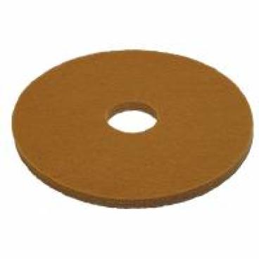 Vileda Professional DynaCross Superpads, 20 mm dick 1 Packung = 5 Stück, Farbe: beige, Ø 410 mm