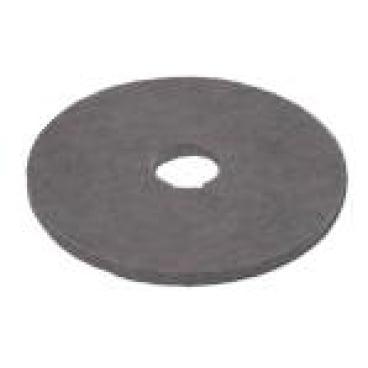 Vileda Dyna Cross Superpads, 20 mm dick Ø 410 mm, grau - Reinigung m. Schleifkorn