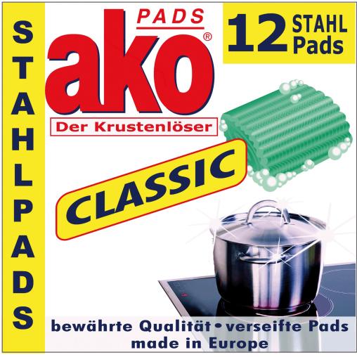akoPADS® Classic Stahlpads