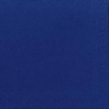 DUNI Servietten, 40 x 40 cm, 3-lagig, 1/4 Falz dunkelblau