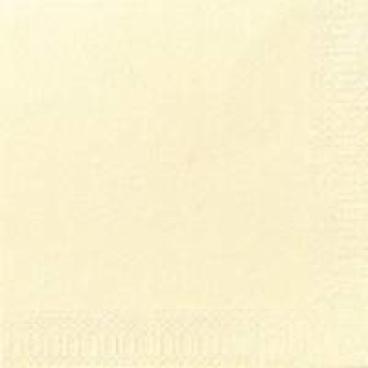 DUNI Servietten, 40 x 40 cm, 3-lagig, 1/4 Falz champagne