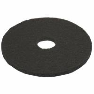 Vileda Professional DynaCross Superpads, Ø 410 mm 1 Packung = 5 Stück, schwarz, 20 mm dick