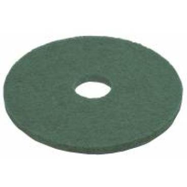 Vileda Professional DynaCross Superpads, Ø 410 mm 1 Packung = 5 Stück, grün, 20 mm dick