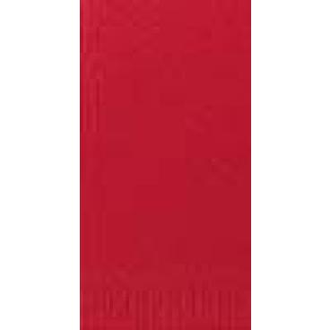 DUNI Servietten, 33 x 33 cm, 3-lagig, 1/8 Falz rot