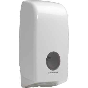 Kimberly-Clark Aquarius Toilettenpapier-Spender, weiß