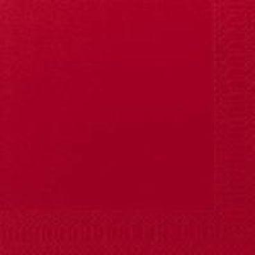 DUNI Servietten, 40 x 40 cm, 3-lagig, 1/4 Falz rot