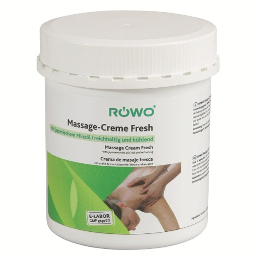 RÖWO® Massage-Creme Fresh