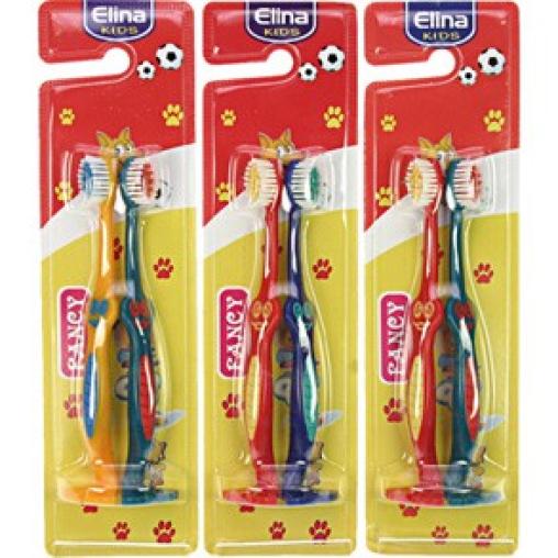 ELINA kids Kinder Zahnbürste