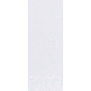 DUNI Servietten, 36 x 36 cm, 2-lagig, 1/8 Falz weiß