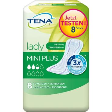 TENA Lady Mini Plus Slipeinlagen