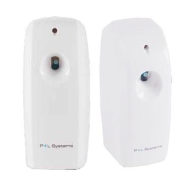 P+L Systems Washroom Microduftspender LCD, programmierbar