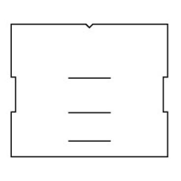 INSECT-O-CUTOR Klebefolien schwarz 1 Packung = 6 Stück