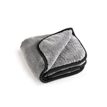 MEGA Clean Professional MEGA Flausch Mikrofasertuch 1 Stück, Farbe: grau / schwarz