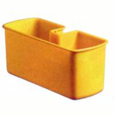 TTS Ablagewanne, gelb