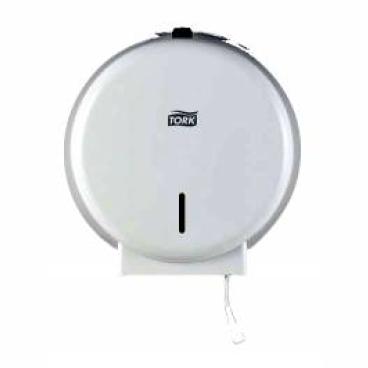 Tork Spender für Toilettenpapier, Mini Jumbo Rolle Farbe: weiß