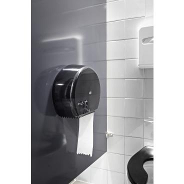 Tork Jumbo Toilettenpapier T1 Advanced, 1-lagig, weiß 1 Paket = 6 Rollen x 500 m = 3.000 m
