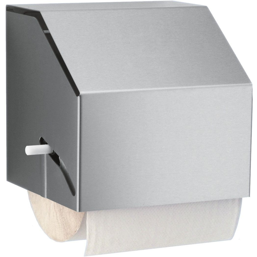 halter f r papiertuchrollen edelstahl geschliffen und einer rollenbreite von 220 mm online. Black Bedroom Furniture Sets. Home Design Ideas