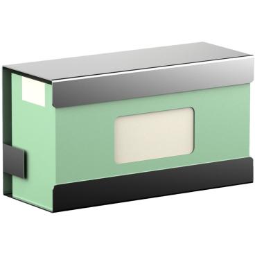 Halter für Einmalhandschuh Standardkartons Edelstahl, gebürstet
