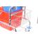 Floorstar Einfachfahrwagen mit Korb 17 l SOLID, verchromt EFA 20 K