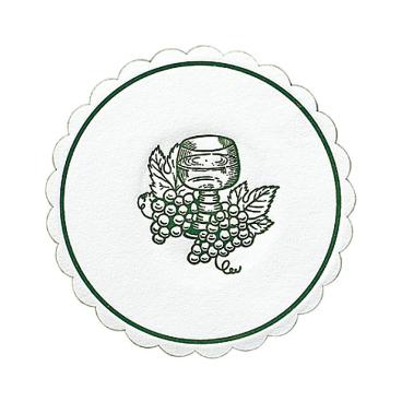DUNI Traube Tassen-/Glasuntersetzer