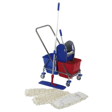 Floorstar Doppelfahrwagen Cleaning Kit S SOLID 2 x 17 l