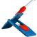 "Magnetklapphalter ""Klappi"" Farbe: blau, Breite: 50 cm"