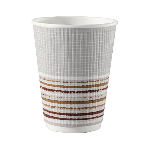 DUNI ecoecho Triple Wall Striped Coffee to GO-Becher