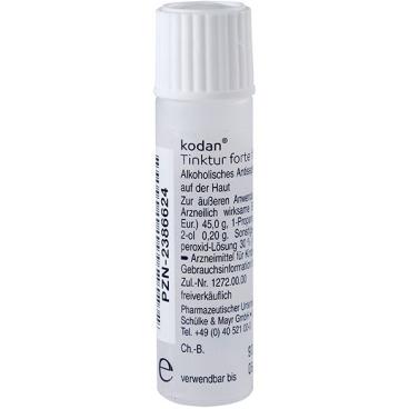 Schülke kodan® Tinktur forte Hautantiseptikum, farblos