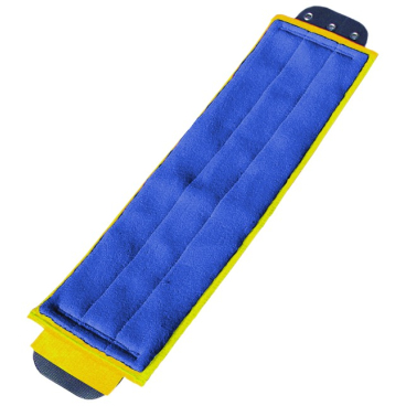 UNGER SmartColor™ DampMop, 40 cm 1 Packung = 5 Stück, gelb
