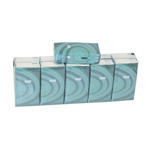 Papier-Taschentücher, 4-lagig, 100 % Zellstoff