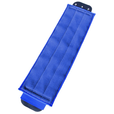 UNGER SmartColor™ DampMop, 40 cm 1 Packung = 5 Stück, blau