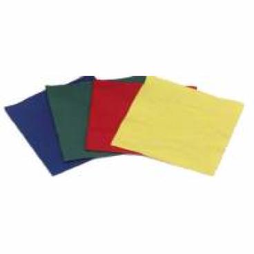 Servietten, 33 x 33 cm, 1/4 Falzung, 3-lagig 1 Packung = 250 Stück, grün